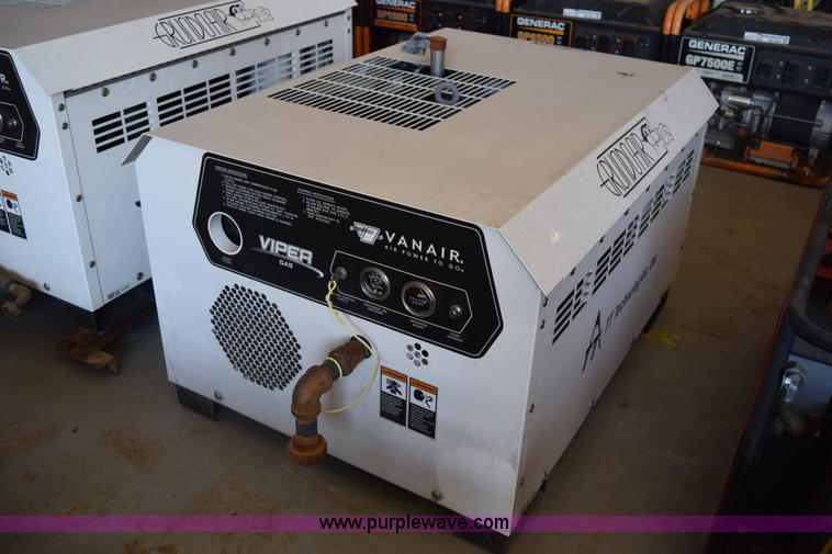 Auction listings in auction auctions purple wave inc vanair viper 70 air compressor asfbconference2016 Choice Image