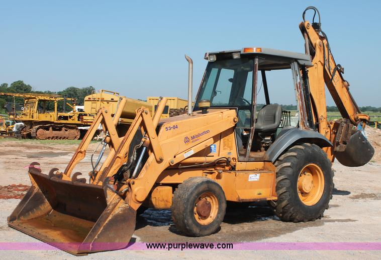 Case 580l Backhoe Seat : Manhattan pipeline llc equipment auction in hinton