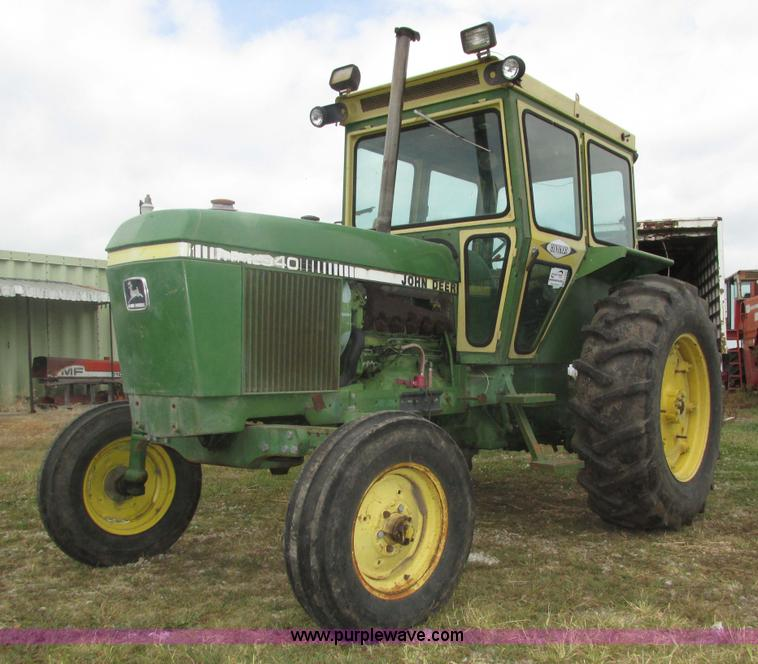 wednesday 23 ag equipment auction colorado auctioneers 1980 john deere 2940 tractor