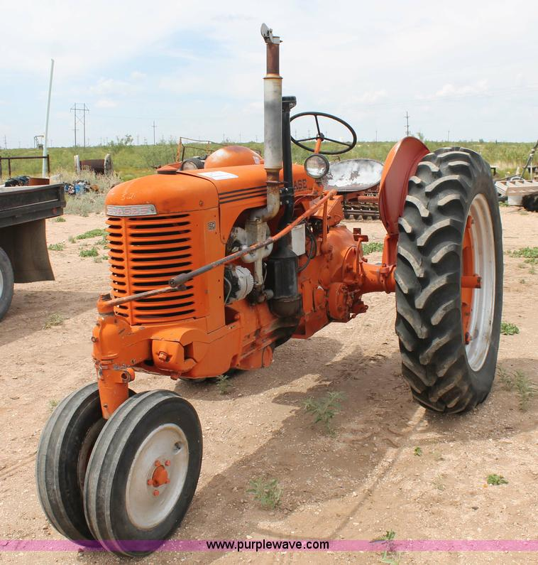 Case Gas Tractor : L g case sc tractor four cylinder gas