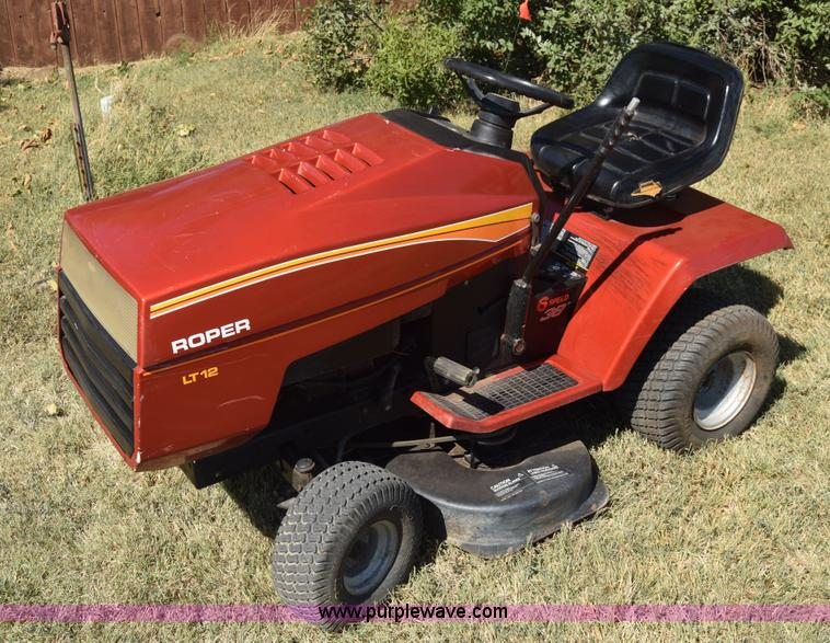 Roper Lawn Tractors And Garden : Vehicles and equipment auction in wichita kansas by