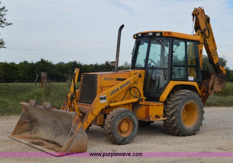 John Deere 310d Backhoe Seat : Thursday october construction equipment auction in by