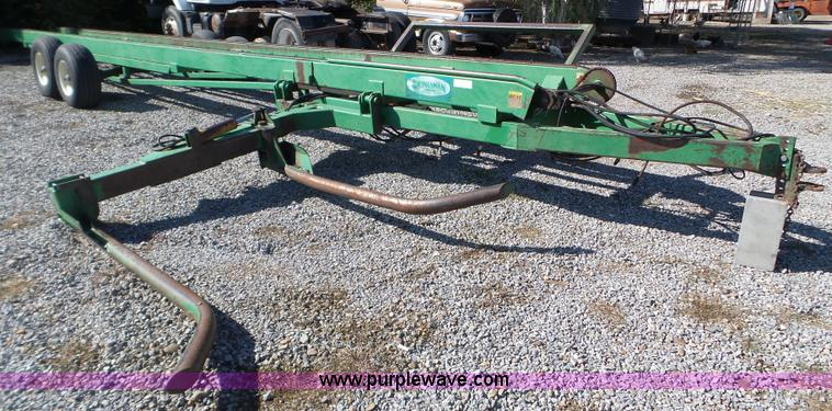 Kingsman Round Bale Mover No Reserve Auction On