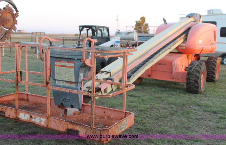 construction equipment auction in by purple wave inc jlg 600s boom lift