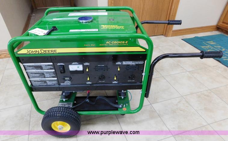 John Deere 60 Generator : Ag equipment auction in by purple wave inc