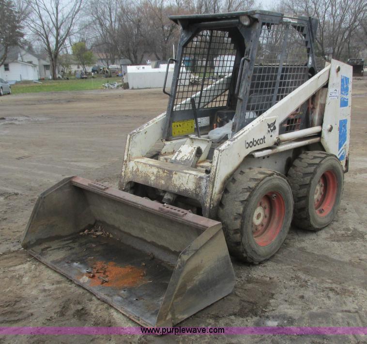bobcat 743 skid steer manual