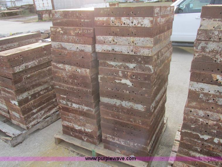 40 concrete forms no reserve auction on wednesday for Concrete log forms