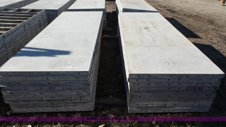 Wall ties and forms aluminum concrete form panels no