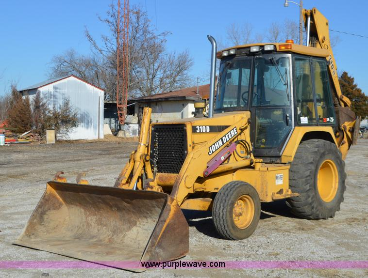 John Deere 310d Backhoe Seat : Vehicles and equipment auction in by purple wave inc