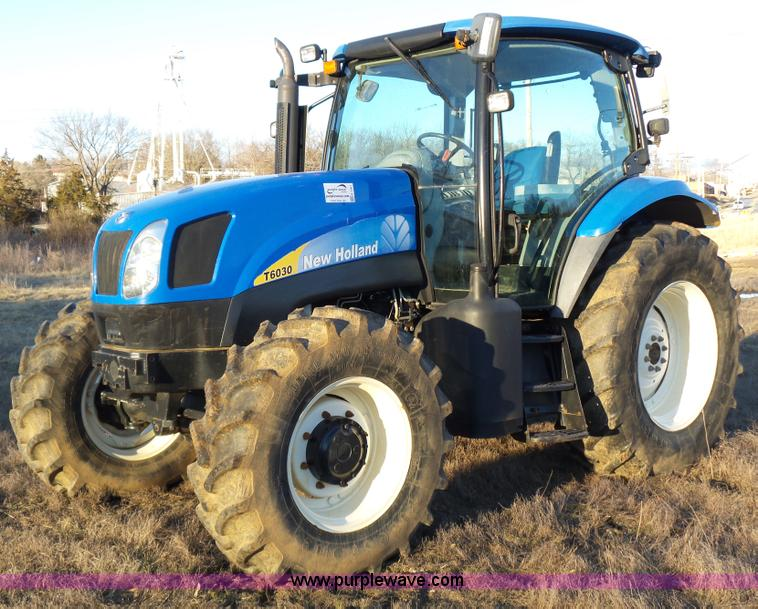 2008 new holland t6030 tractor no reserve auction on wednesday february 24 2016. Black Bedroom Furniture Sets. Home Design Ideas