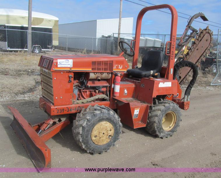 L5516 construction equipment auction in halstead, kansas by purple wave Ditch Witch 3700 at readyjetset.co