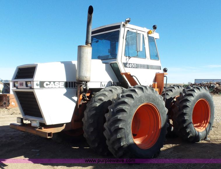 Case 4490 Tractor : Ag equipment auction in kinsley kansas by purple wave
