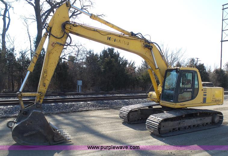 construction equipment auction in kansas city missouri by purple 1994 komatsu pc200lc 6l excavator