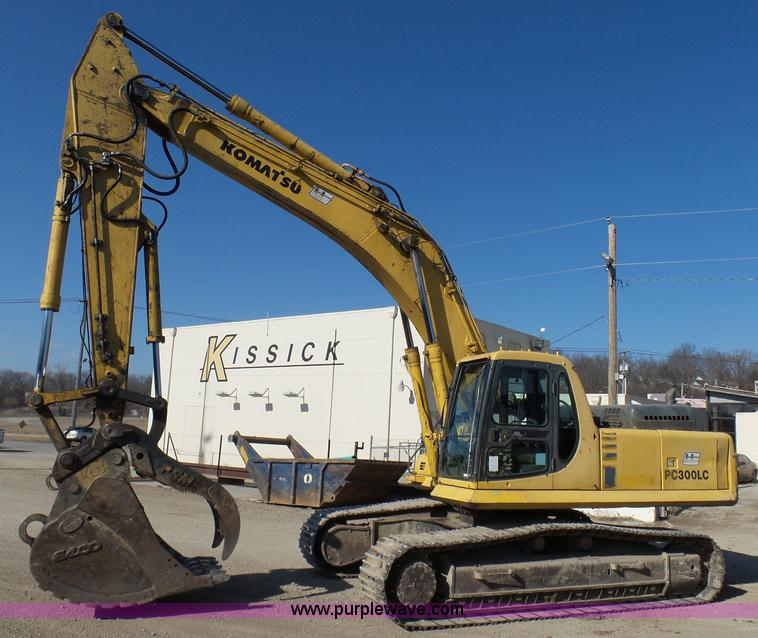 construction equipment auction in kansas city missouri by purple 1999 komatsu pc300lc 6le excavator