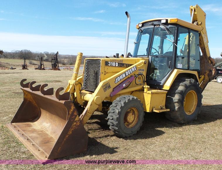 John Deere 310d Backhoe Seat : Construction equipment auction kansas auctioneers