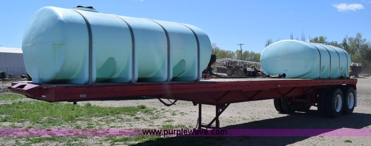Poly Tank Trailer : Ag equipment auction in girard kansas by purple wave