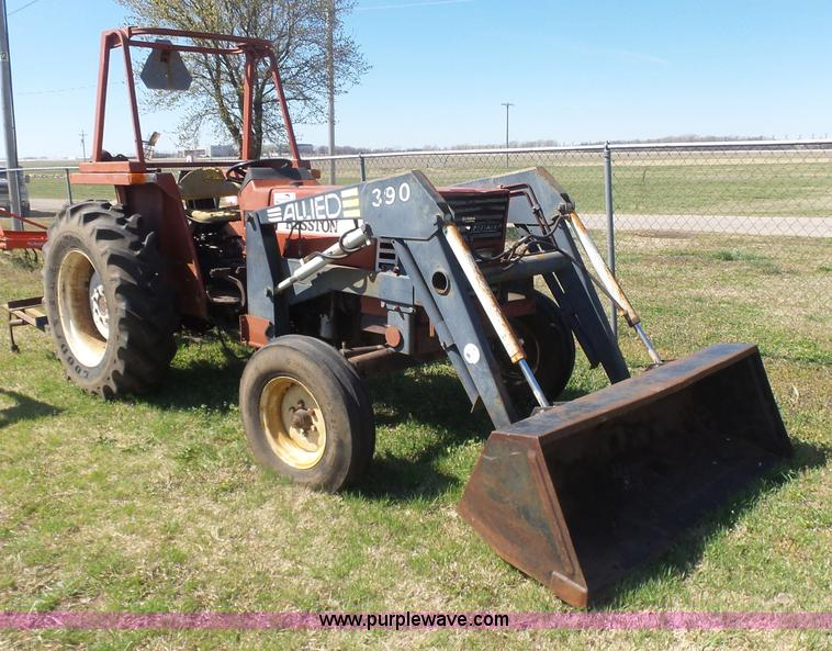 Fiat Hesston Tractors Farm : Ag equipment auction in girard kansas by purple wave