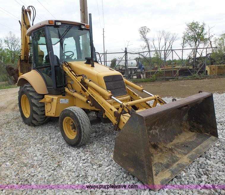 555 Ford Backhoe Seats : Construction equipment auction in wichita kansas by