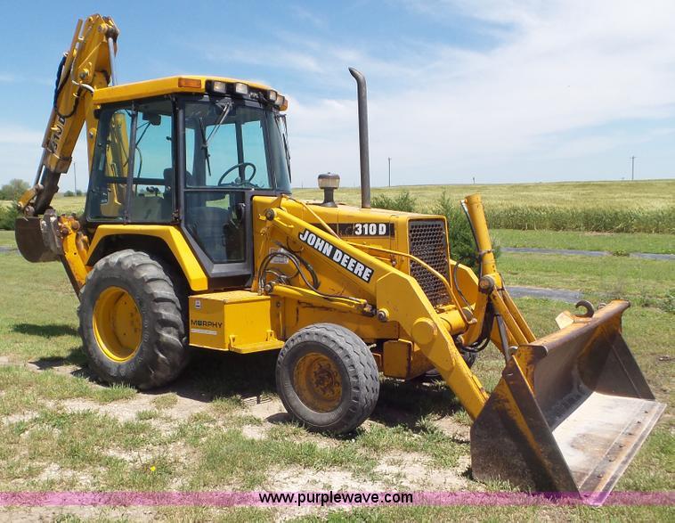 John Deere 310d Backhoe Seat : Construction equipment auction in wichita kansas by