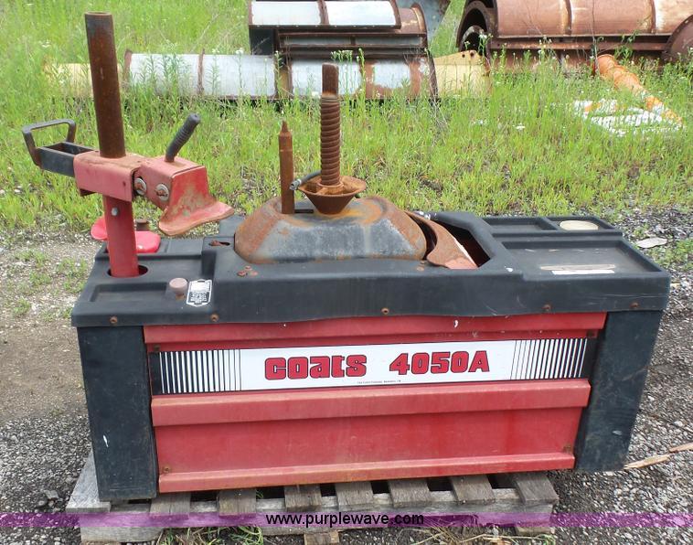 coats 4050a tire machine