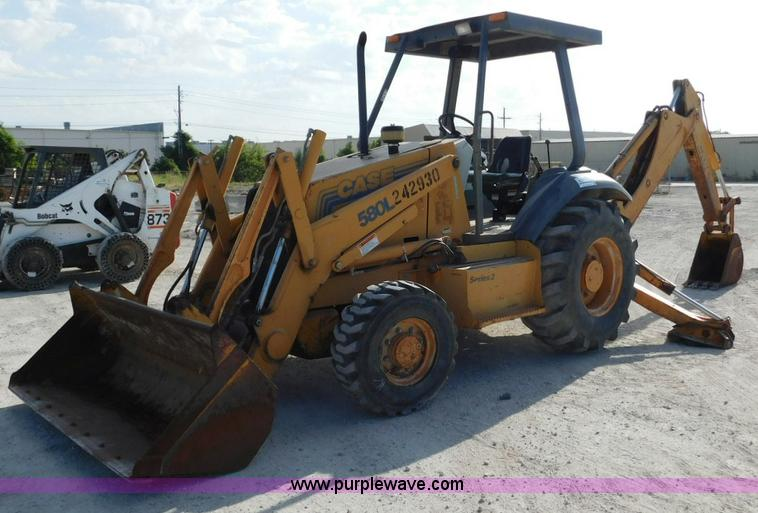 Case 580l Backhoe Seat : Construction equipment auction in yates center kansas by