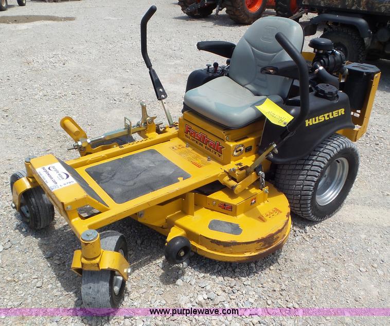 hustler 802d 6 wheel mower