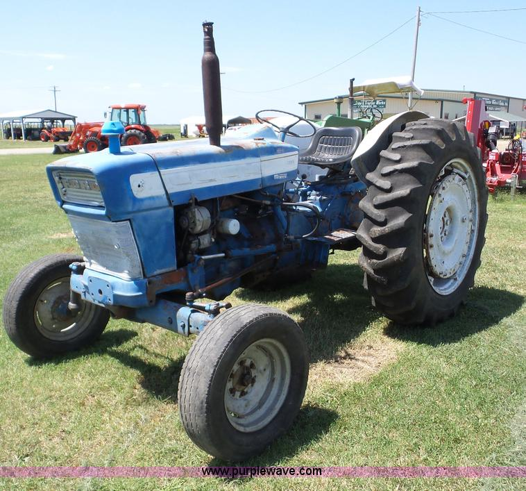 Ford 4000 Diesel Tractor Manual : Ag equipment auction in mclouth kansas by purple wave