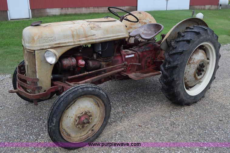 8n Ford Tractor Transmission : Ag equipment auction in colby kansas by purple wave