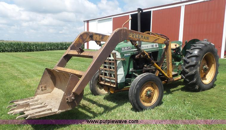 550 Oliver Tractor With Loader : Ag equipment auction in colby kansas by purple wave