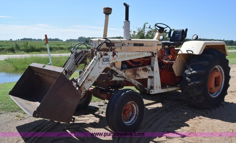 1030 Case Tractor With Loader : Ag equipment auction in burrton kansas by purple wave