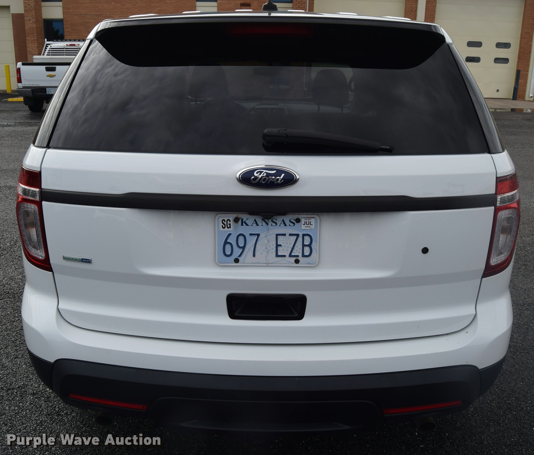 2013 Ford Explorer Police Interceptor Utility SUV