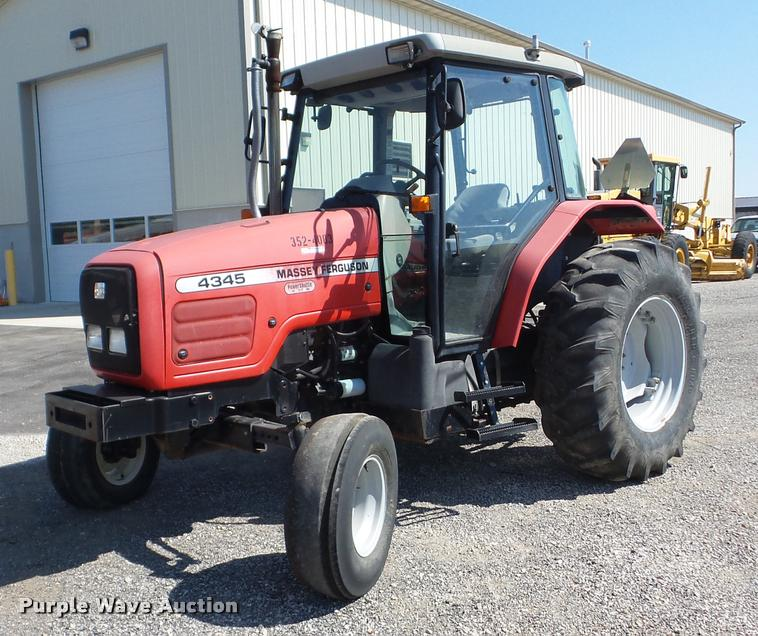 2003 Massey Ferguson 4345 tractor