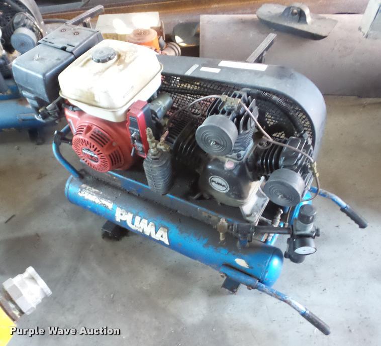 2002 Puma TUE8008G air compressor