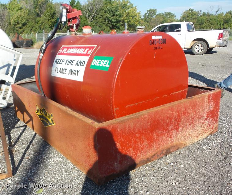 2001 Wemac Style B fuel tank