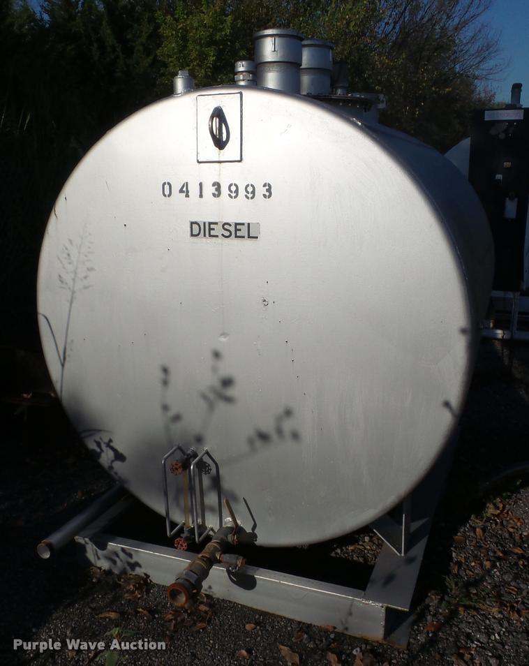 1993 Smith 1000 fuel tank