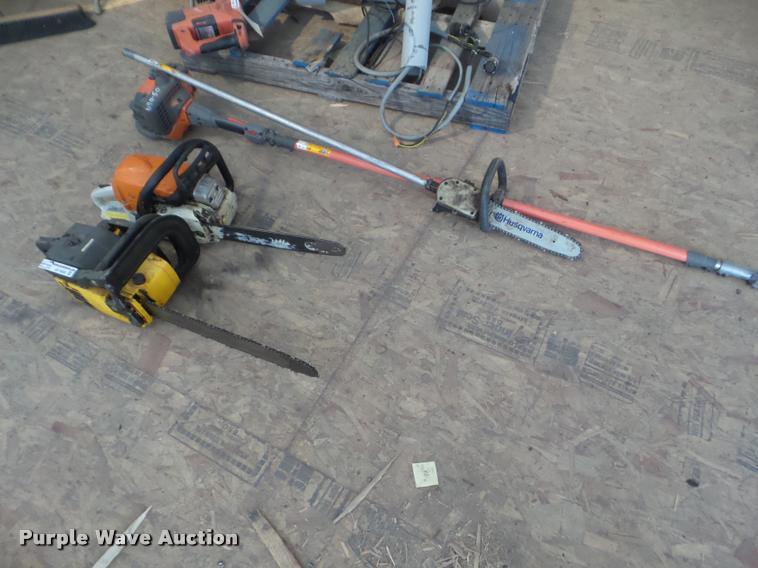 (3) chain saws