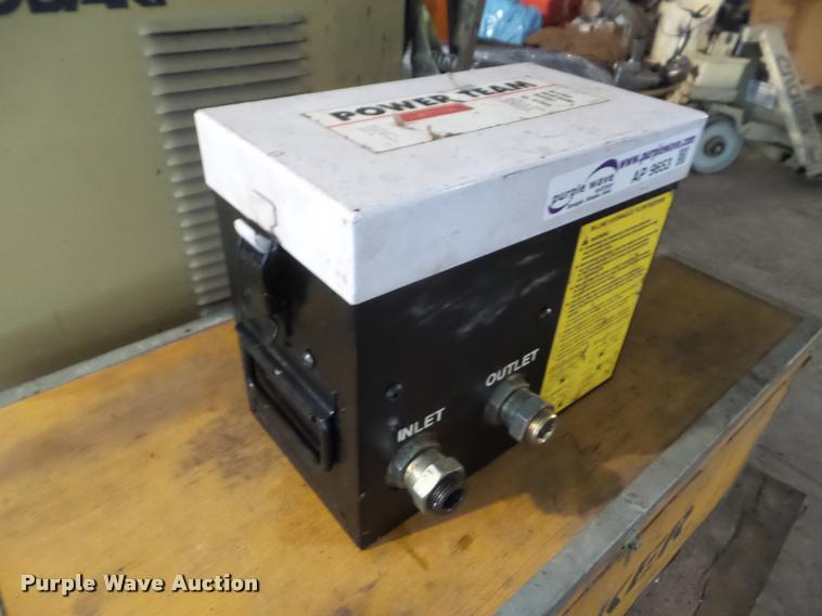 1994 Powerteam HT50A hydraulic flow tester