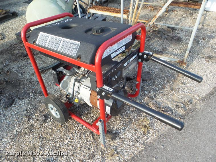 2010 Porter Cable BS1550W generator