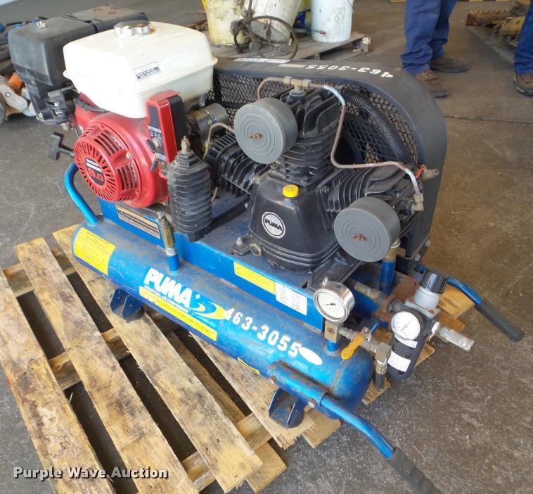 2005 Puma TUE8008G air compressor