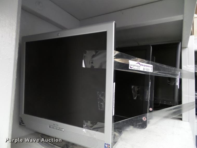 (27) computer monitors
