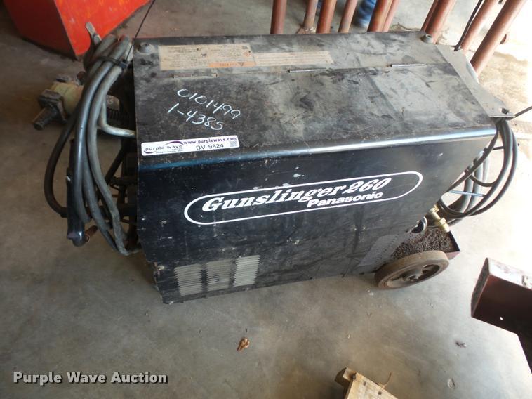 1999 Panasonic Gunslinger 260 welder