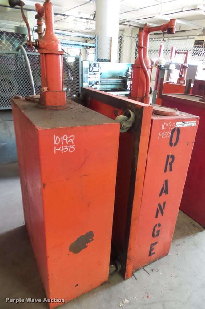(2) fluid storage tanks