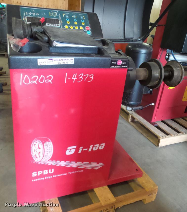 Librauto Commercial Precision GI100 wheel blancer