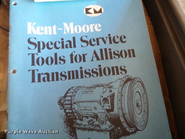 1984 Kent Moore AT540 Allison transmission rebuild kit