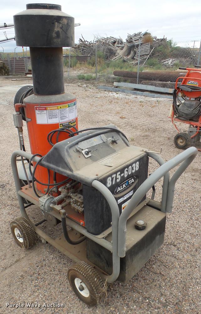 2008 Alkota 412X4 pressure washer