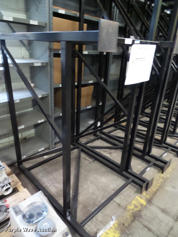 Hanging plan rack