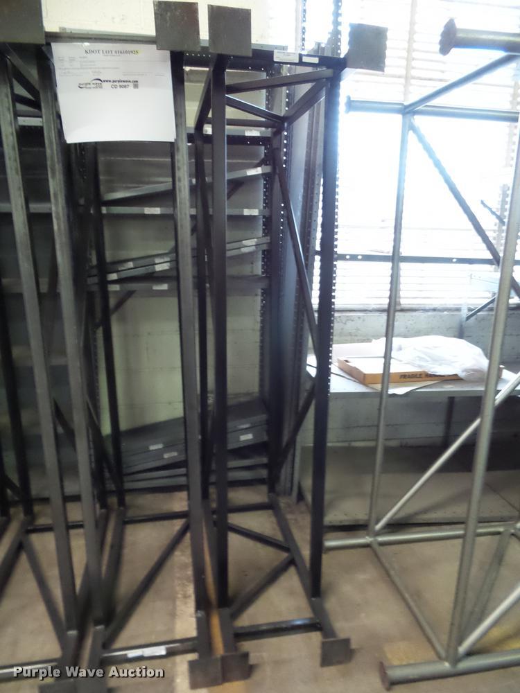(2) hanging plan racks