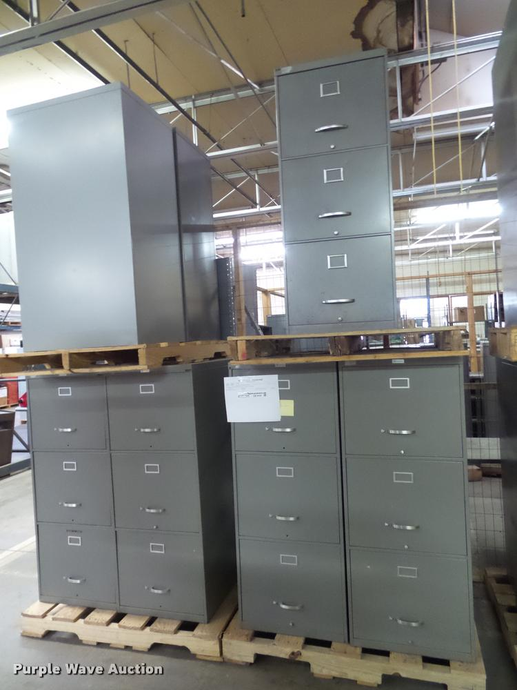 (7) over sized file cabinets