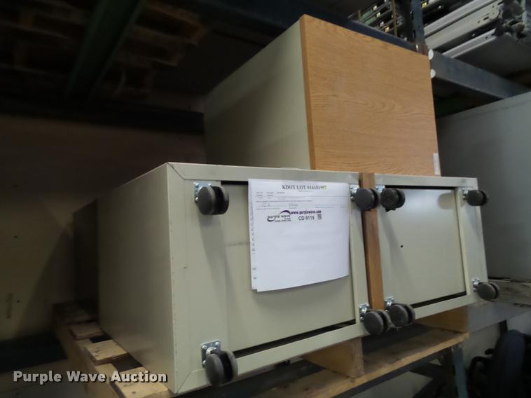 (5) Herman Miller file cabinets