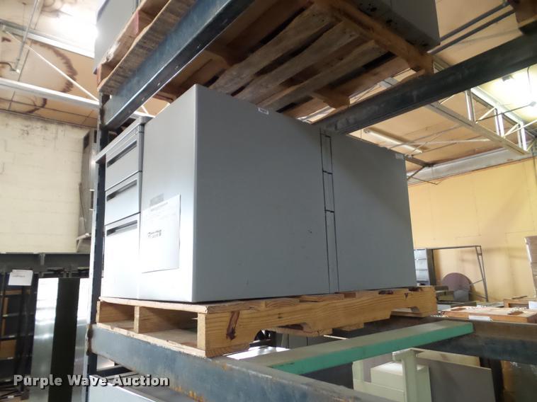 (4) Hayworth hanging file cabinets